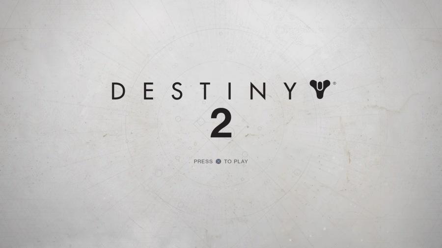 Destiny 2 Beta Title