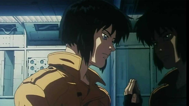 ghost in the shell - crunchyroll